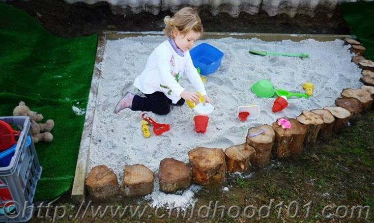 sandbox from stumps