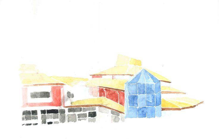 Site Analysis: Watercolour