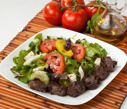 Chenjeh Salad Traditional Dishes - Traditional Persian Dishes to Take Out, Catering