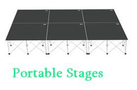 Transtage is a leading supplier of portable stages, Mobile Stages, modular and Aluminium staging system, portable staging for sale Australia wide.