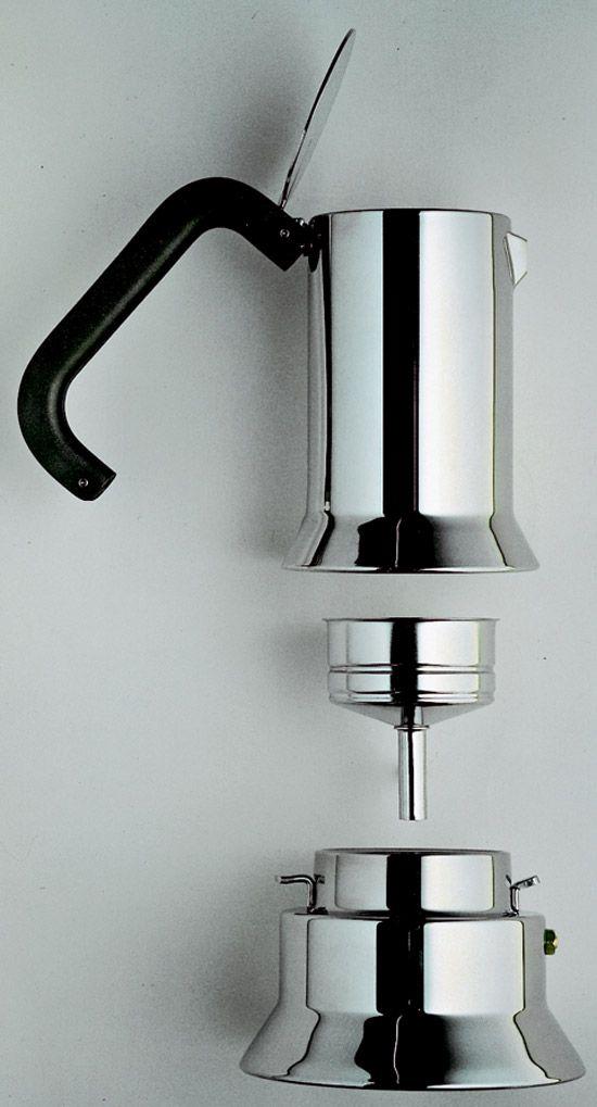 richard sapper, espresso coffee maker, 1978