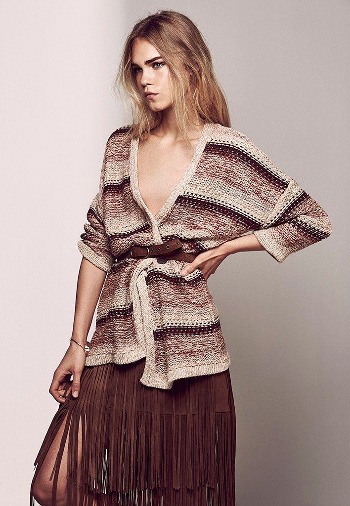 Massimo Dutti - Women Pre-Fall - LOOKBOOK - starring  Line Brems: