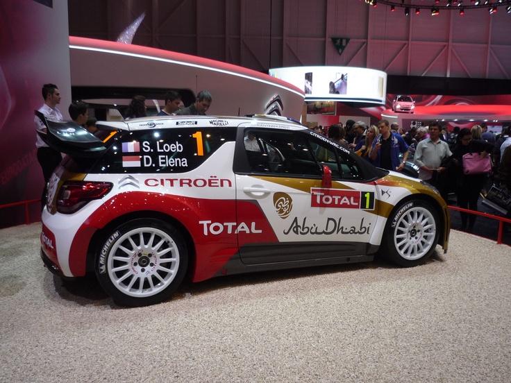 Citroën DS3 WRC Abu Dhabi