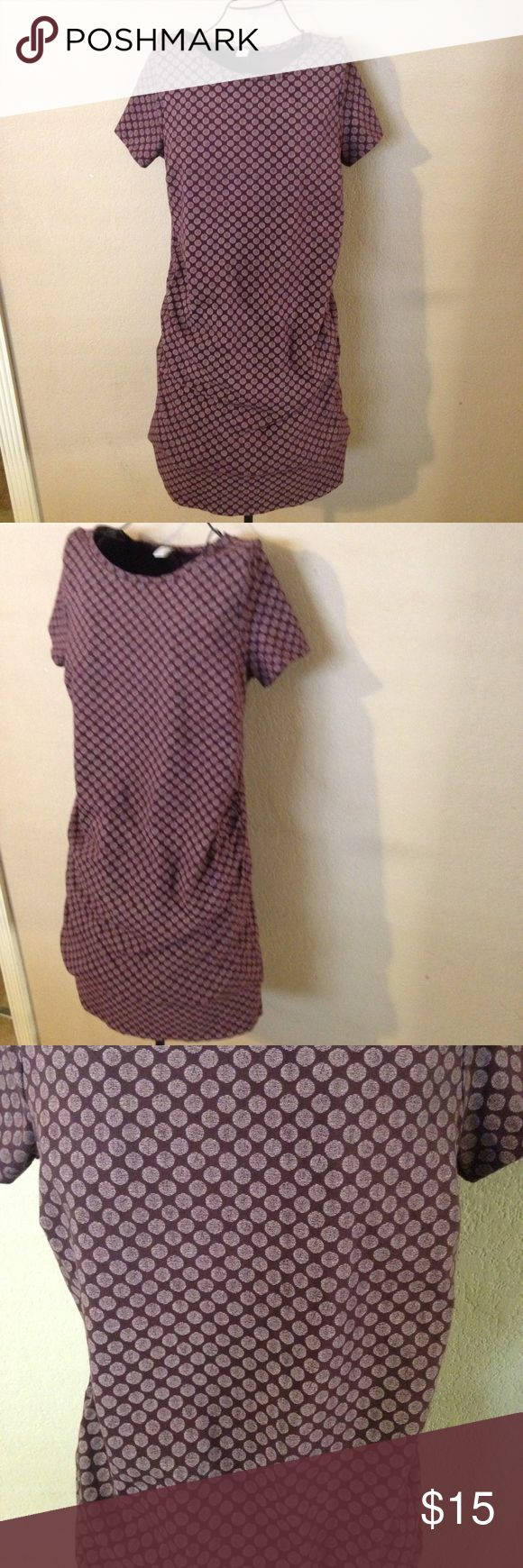 💕Cute Old Navy maternity dress size small look💕 Super cute comfy dress Old Navy Dresses Midi