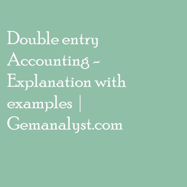 10 best Accounting Notes images on Pinterest Accounting - example of a financial report