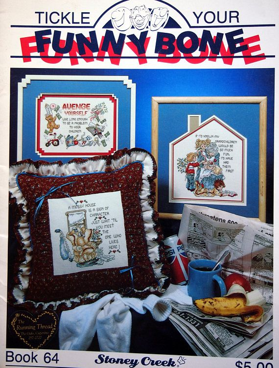 Tickle Your Funny Bone Book 64 By Stoney Creek Vintage Cross