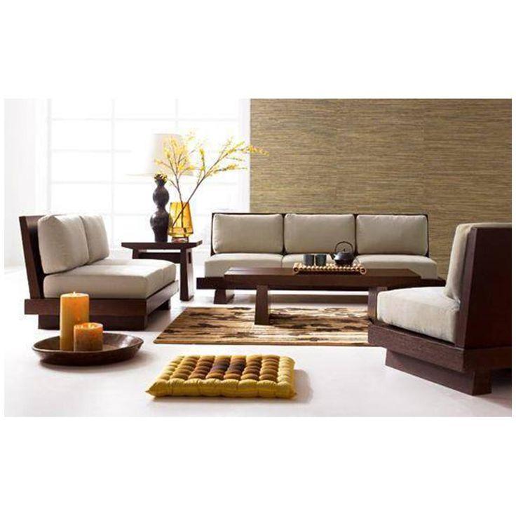 wooden sofa set - Google Search