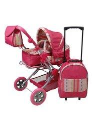 Set: Kombi-Puppenwagen mit Trolley, KNORRTOYS.COM®, »Mioux«
