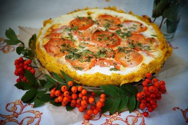 Пирог Овощная корзинка - пошаговый рецепт с фото: Предлагаю рецепт пирога из осенних овощей. В некоторых источниках это блюдо называется киш без теста, но корзинка мне... - Леди Mail.Ru