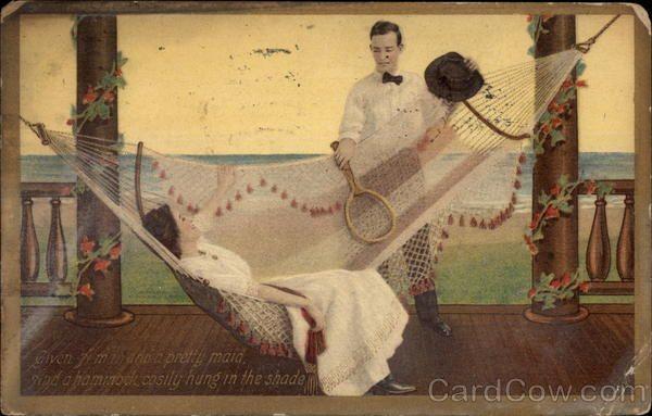 porch Hammocks | Couple on Porch Hammock Couples