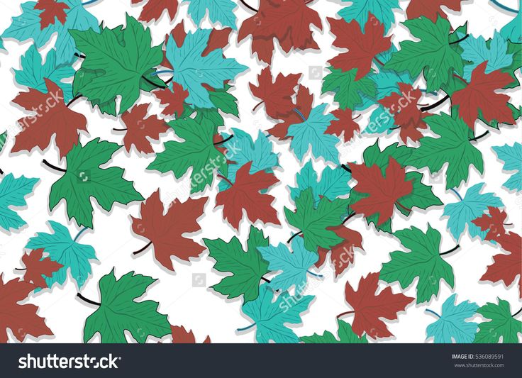 Plant decoration season forest fall tree maple pattern foliage background. Can be used for wallpaper, pattern fills, textile, web page background, Image for advertising booklets, banners, flayers.