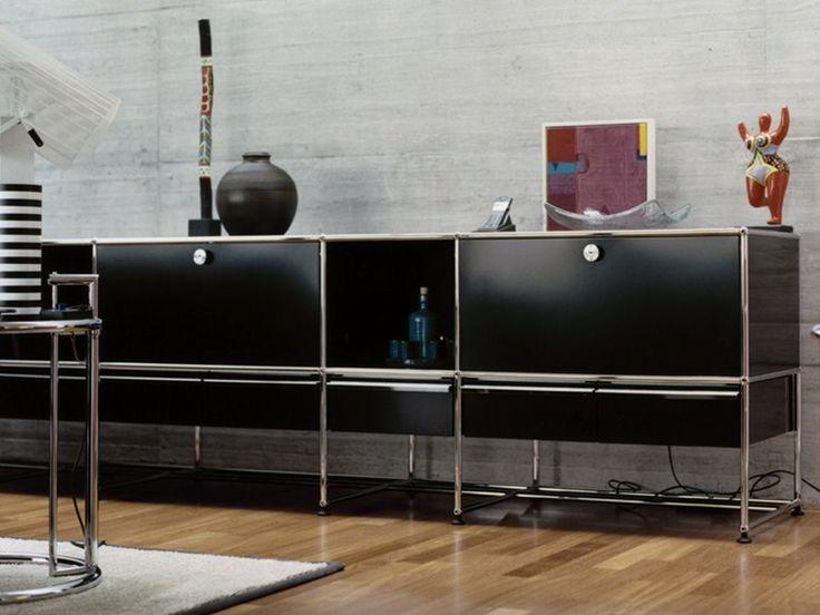 USM HALLER CREDENZA FOR LIVING ROOM Modular Sideboard By Furniture Design Fritz Haller