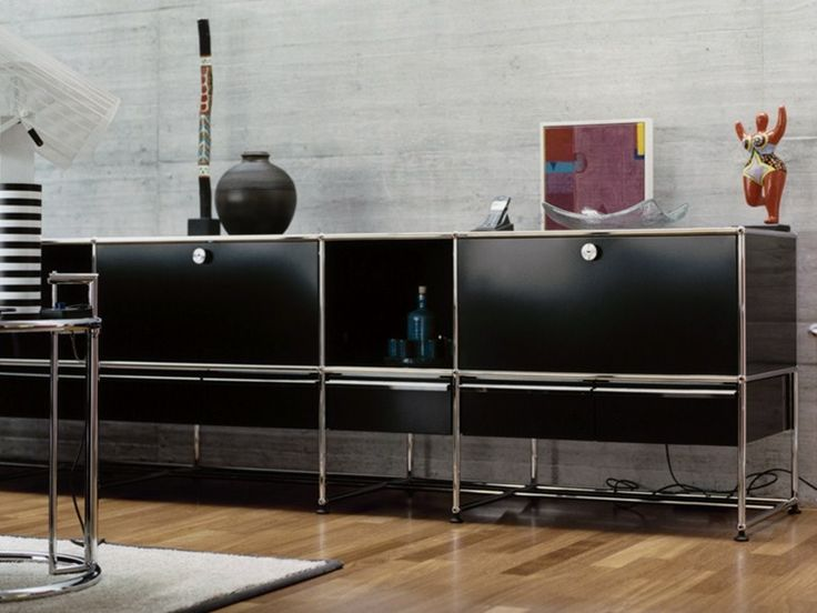 25 best ideas about usm haller sideboard sur pinterest for Meuble bureau usm