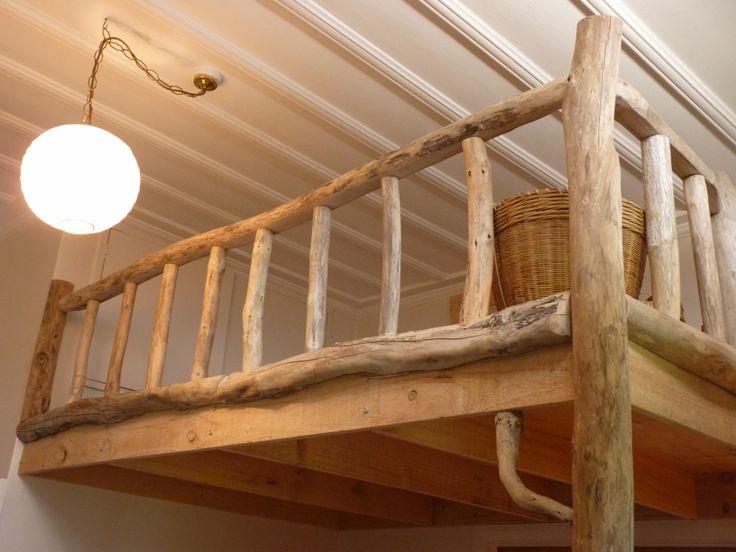Driftwood loft built by Douglas Ransom, Hawkes Bay, NZ  www.facebook.com/nobelsteed