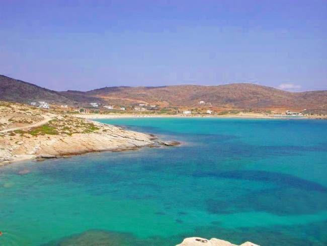 Manganari Beach, Ios, Greece, the best place (so far) to swim naked