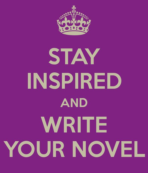 This is the WRITE attitude. I feel inspired to get off the internet now and write my novel...