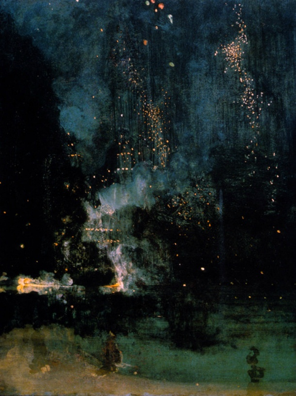 Nocturne by James Whistler - One of my all time favorites!