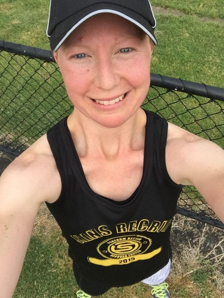Post long run! Feeling good!