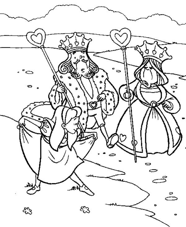 Alice In Wonderland Poster Coloring Page Alice In