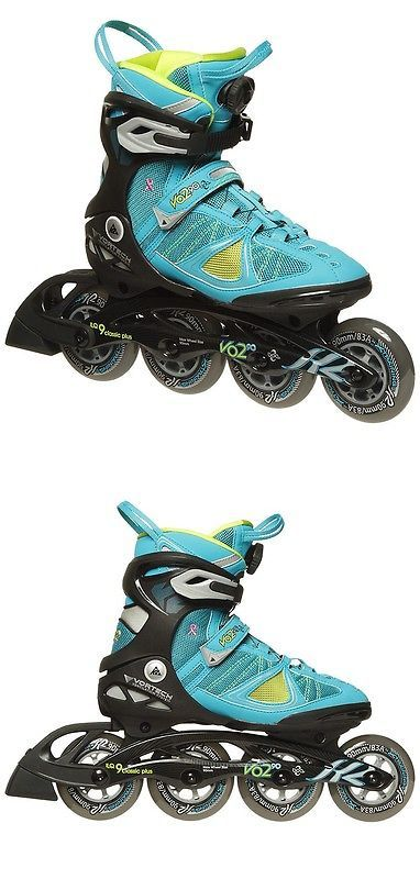 Women 16259: New K2 V02 90 Boa Women Inline Skates - 8Us -> BUY IT NOW ONLY: $160.83 on eBay!