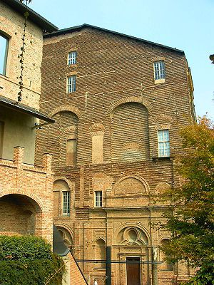The Castle of Rivoli is a former Residence of the Royal House of Savoy in Rivoli (province of Turin, Italy). It is currently home to the Castello di Rivoli - Museo d'Arte Contemporanea, the museum of contemporary art of Turin.