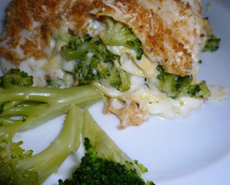 Lasagne al forno con i broccoli