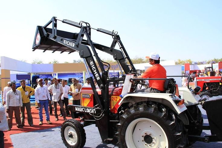 #Eicher #tractors are a household name in India, renowned for delivering an #UmmeedSeZyaada experience, that exceeds all expectations.   Paired with a Magic #Loader, the #Eicher242 in the 25 hp range can outperform any other #tractor in the category, with efficiency and ease.     To know more about this #iconic #tractor, visit the website NOW: https://goo.gl/JAfRTf