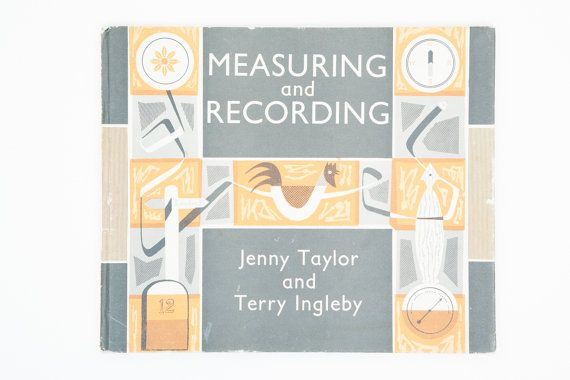 Etsy listing at https://www.etsy.com/uk/listing/287138221/measuring-and-recording-by-jenny-taylor