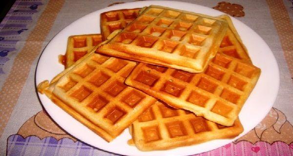 Receita de Waffles Deliciosos - Receita Toda Hora