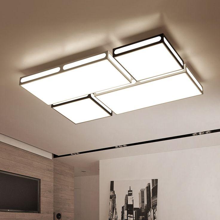 Surface mounted Modern LED Ceiling Light for Living room bedroom decoration fixtures oscurecimiento de la lampara de techo #Affiliate