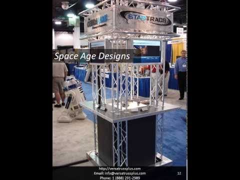 Display Truss | Exhibit Truss | Lighting Truss Video Catalog / Brochure by VersaTruss Plus For more information Contact us Today http://versatrussplus.com  1 (888) 291-2989