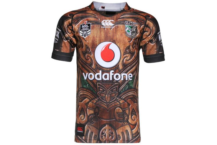 New Zealand Warriors 2015 NRL Heritage Pro S/S Rugby Shirt