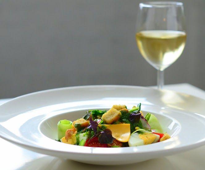 Lunch / sałatka z dorszem i warzywami / Salad with cod and wegetables / Concordia Taste