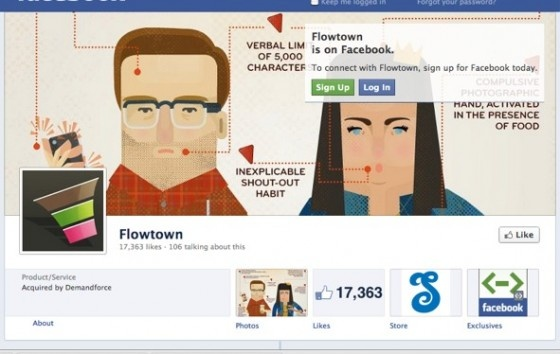 Businesses that use Facebook to build brand awareness, sell products, and gain new clients will have to adjust their pages now that Facebook has converted them to the Timeline format.    Read more: http://www.flowtown.com/blog/4-ways-to-make-timeline-work-for-your-business#ixzz26xFwkXmF