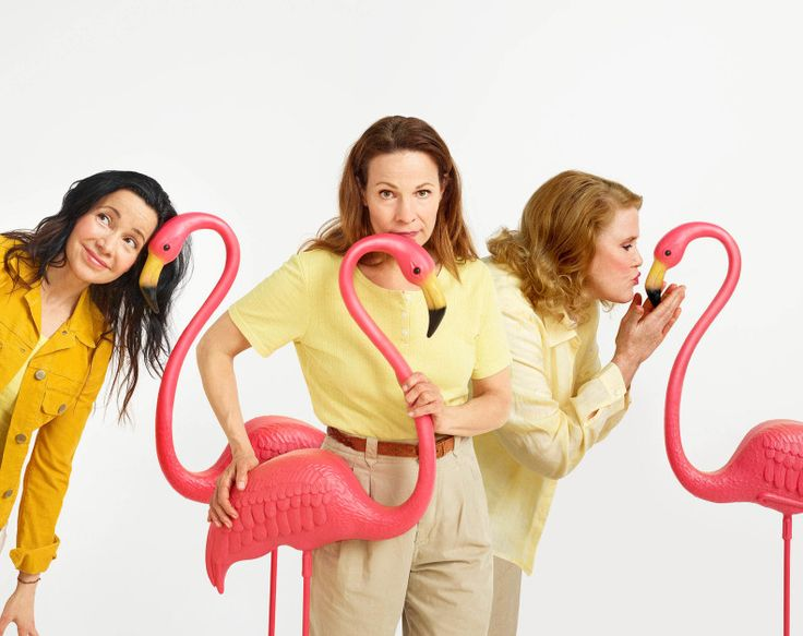 Janeane Garofalo, Lili Taylor, and Celia Weston star in the Roundabout Theatre production.