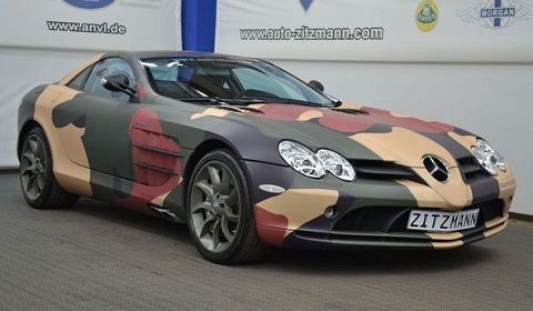 Camouflage Mercedes-Benz SLR McLaren ________________________ PACKAIR INC. -- THE NAME TO TRUST FOR ALL INTERNATIONAL & DOMESTIC MOVES. Call today 310-337-9993 or visit www.packair.com for a free quote on your shipment. #DontJustShipIt #PACKAIR-IT!