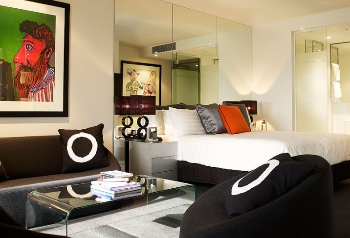 The Cullen Melbourne takes its cue from the art of Australian enfant terrible Adam Cullen, offering cool contemporary rooms starring original paintings and prints,