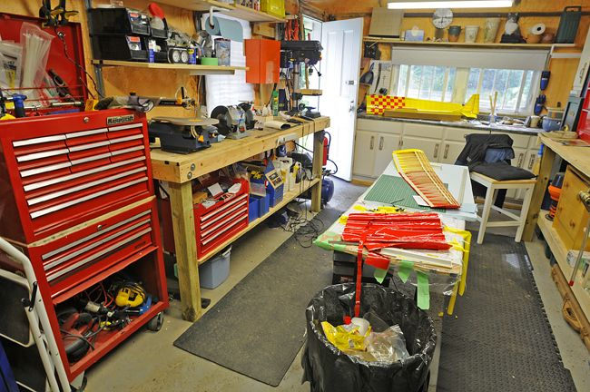 garage workshop bench ideas - Man cave workshop