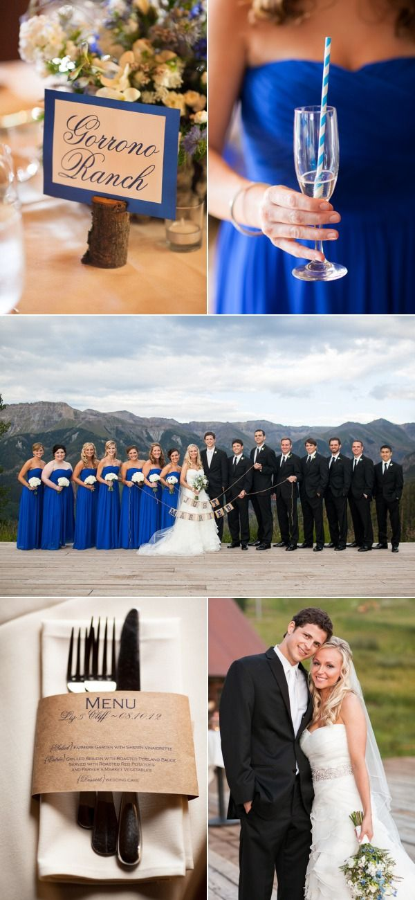 Colorado Wedding at Telluride Ski Resort, yes please!
