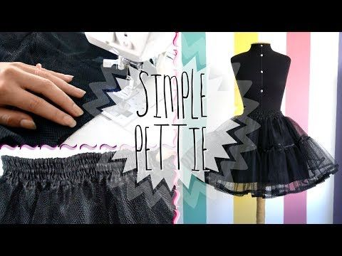 Making a Petticoat | MeLikesTea - YouTube