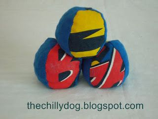 The Chilly Dog: Bean Bag Balls