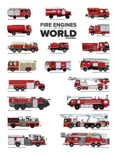 Fire Engines of The World                                                                                                                                                     More