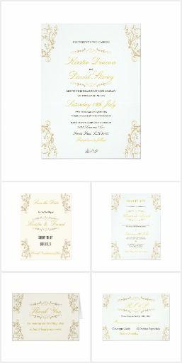 Wedding Stationery & Accessories Set 13