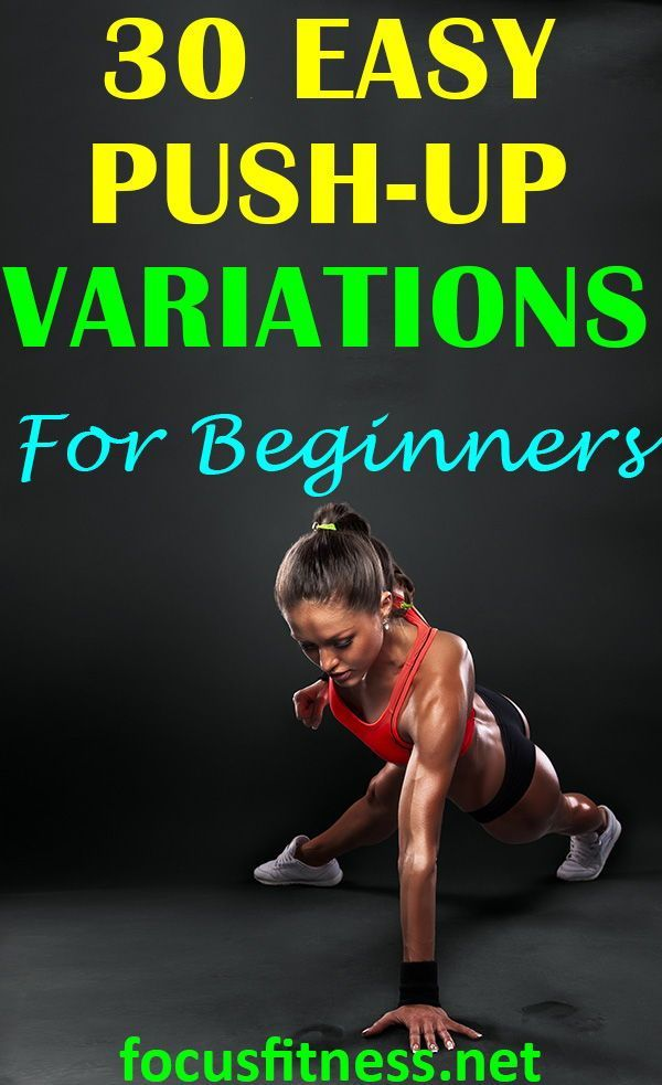 30 Best Push-Up Variations for Beginners | Home Exercises For