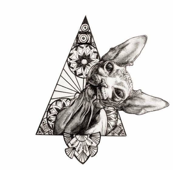 SPHYNX tattoo idea