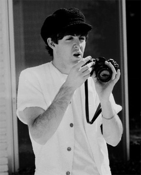 Atomic Vision: Photography Cinema Visual Arts: Celebrities And Their Cameras: Paul McCartney