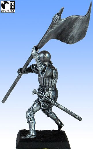 Mindstalkers: soldiers generic for factions of Milan and Venice. Standard Bearer without sword 02
