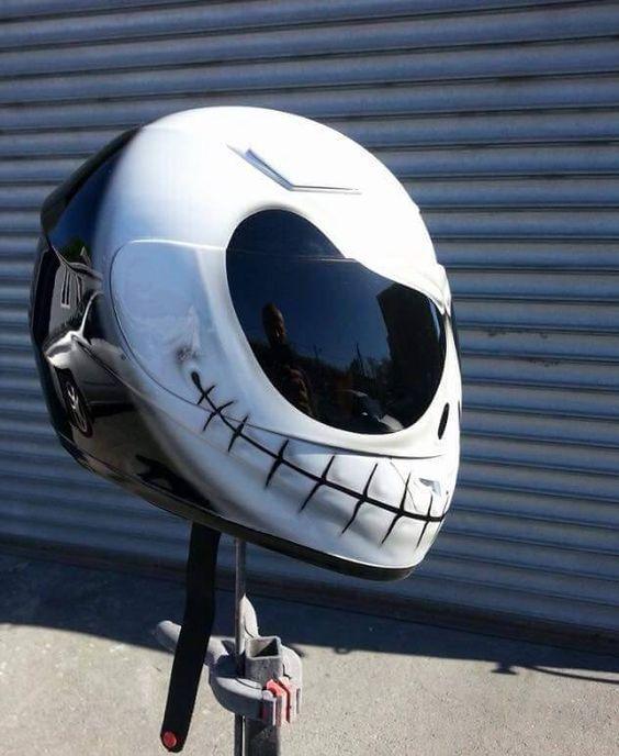 Jack Skellington Custom Helmet
