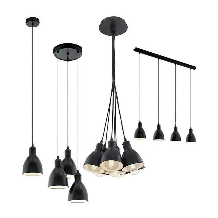 Priddy E27 Pendant Light Eglo Lighting in Home & Garden, Lighting, Fans, Pendant Lighting | eBay!