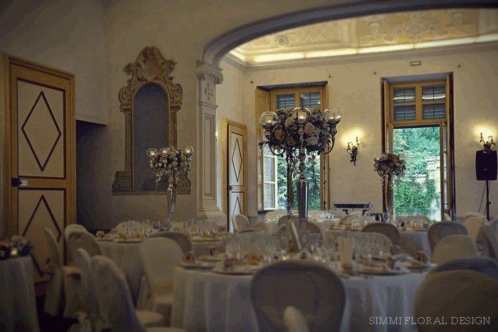fiori matrimonio by Simmi Floral Design Torino a Villa Bria